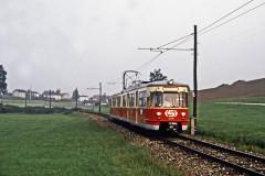 5 Sept. 1987 Linzer Lokalbahn 22 130 -230 ex KBE after Peuerbach