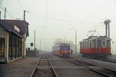 Linzer Lokahlbahn 22 230 ex KBE and 22 103 Niederspaching 4 September 1987