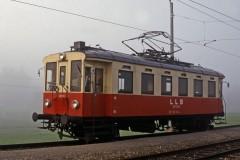Linzer Lokahlbahn Niederspaching LLB 22 103 on 4 September 1987