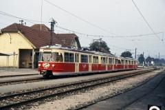 Linzer Lokalbahn 22 236 Alkoven on 5 Sept 1987