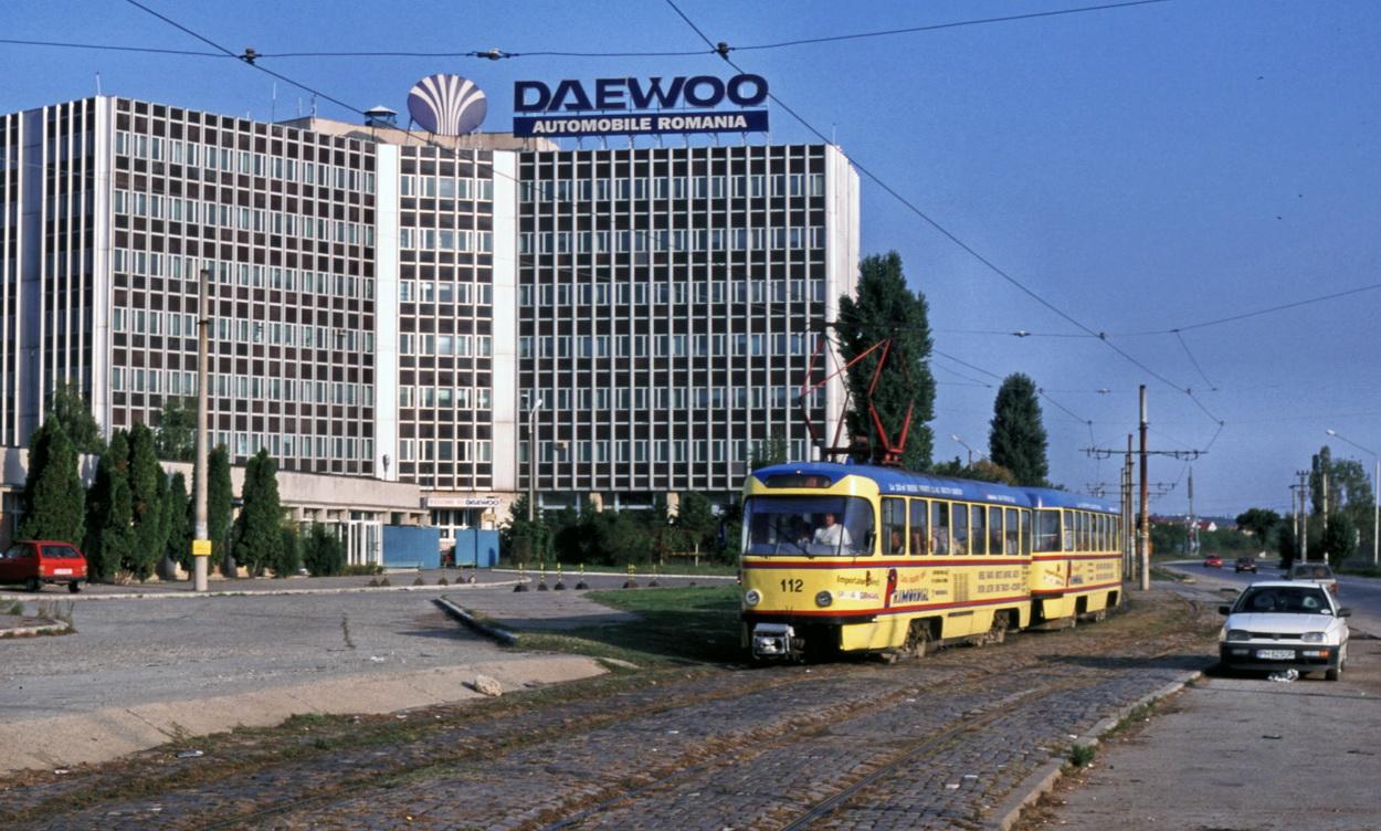 Craiova 112 112 near terminus Daewoo 27-9-2003 aphv -ps kl   Peter