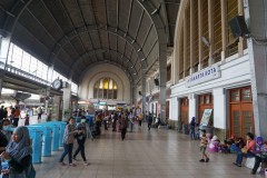 stasiun Jakarta Kota, terminus station 6 Oct 2014 or jakarta Beos as it is often mentioned. Building from 1929 in European art deco style