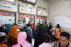 stasiun Jakarta Kota loket, 6-10-2014