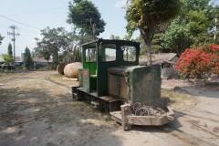 narrow gauge Schöma diesellok Pabrik Gula Gondang Baru 14 Oct 2014