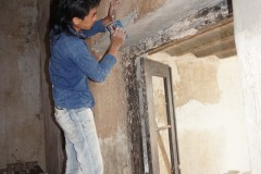 repairs first floor
