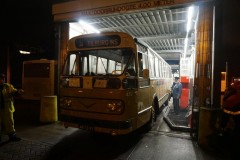 Breda garage with SVA BBA 432 after farewell tours en route to Roosendaal and Bergen op Zoom Saterdag 13 Dec 2014