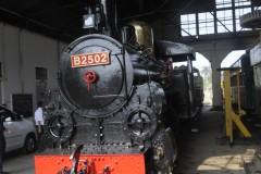 One of the 2 rack engines Ambarawa Rly Museum  2 B25 0-4-2T , B2502 / 3