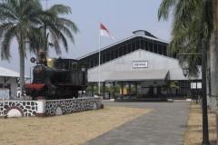 The beautiful stasiun Ambarawa former Willem 1 on 15-10-2014