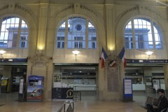 Entrance hall of gare de Troyes. Tradition & respect for the past. 23-10-2013