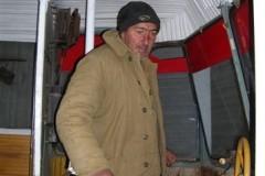 Ronaldi in his museum car Tblisi 26 Dec 2006