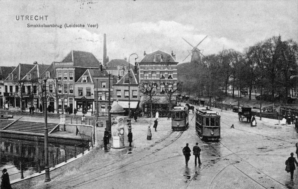 Build A Car >> Utrecht the first generation trams on old Postcards ...