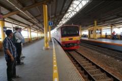 stasiun Jakarta Gondangdia 6 Oct 2014
