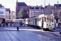 aphv-235-040912-gent-korenmarkt-mivg328-000-70----100-jaar-elec-tram-in-gent